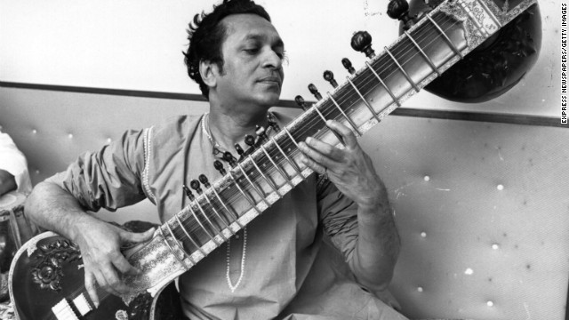 Legendary indian musician, Ravi Shankar, he made History-copyright: All rights reserved-